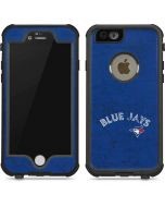 Toronto Blue Jays Solid Distressed iPhone 6/6s Waterproof Case