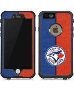Toronto Blue Jays Split iPhone 6/6s Waterproof Case