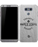 Toronto Maple Leafs Black Text LG G6 Skin
