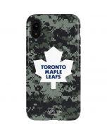 Toronto Maple Leafs Camo iPhone XR Pro Case