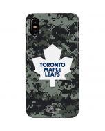 Toronto Maple Leafs Camo iPhone XS Max Lite Case