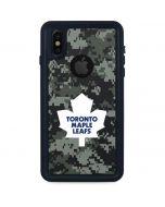 Toronto Maple Leafs Camo iPhone XS Waterproof Case