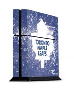 Toronto Maple Leafs Frozen PS4 Console Skin