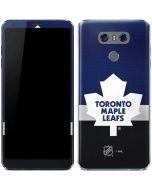 Toronto Maple Leafs Jersey LG G6 Skin