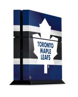 Toronto Maple Leafs Jersey PS4 Console Skin