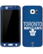 Toronto Maple Leafs Lineup Galaxy S6 Edge Skin