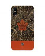 Toronto Maple Leafs Realtree Max-5 Camo iPhone XS Max Lite Case