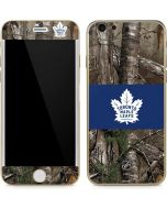 Toronto Maple Leafs Realtree Xtra Camo iPhone 6/6s Skin