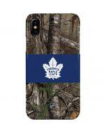 Toronto Maple Leafs Realtree Xtra Camo iPhone XS Max Lite Case