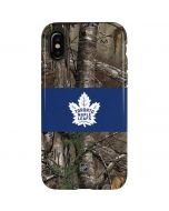 Toronto Maple Leafs Realtree Xtra Camo iPhone XS Pro Case