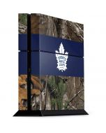 Toronto Maple Leafs Realtree Xtra Camo PS4 Console Skin