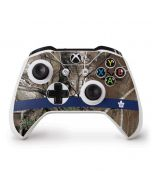 Toronto Maple Leafs Realtree Xtra Camo Xbox One S Controller Skin