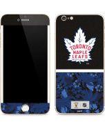 Toronto Maple Leafs Retro Tropical Print iPhone 6/6s Plus Skin