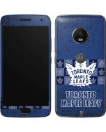 Toronto Maple Leafs Vintage Moto G5 Plus Skin