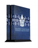 Toronto Maple Leafs Vintage PS4 Console Skin