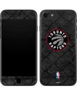 Toronto Raptors Black Rust iPhone 7 Skin
