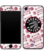 Toronto Raptors Logo Blast iPhone 7 Skin