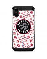 Toronto Raptors Logo Blast iPhone XS Max Cargo Case