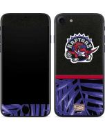 Toronto Raptors Retro Palms iPhone 7 Skin