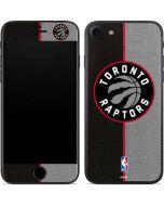 Toronto Raptors Split Canvas iPhone 7 Skin