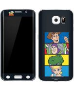 Toy Story Character Grid Galaxy S6 Edge Skin