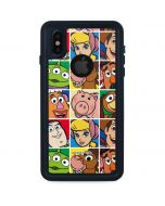 Toy Story Collage iPhone XS Waterproof Case