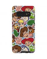 Toy Story Outline Galaxy S10 Plus Pro Case