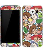 Toy Story Outline Galaxy S6 Edge Skin