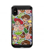 Toy Story Outline iPhone XS Max Cargo Case