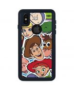 Toy Story Outline iPhone XS Waterproof Case