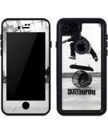TransWorld SKATEboarding Black and White iPhone 8 Waterproof Case