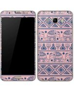 Tribal Elephant Pink Galaxy J7 Skin