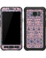 Tribal Elephant Pink Galaxy S7 Active Skin