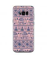 Tribal Elephant Pink Galaxy S8 Plus Skin