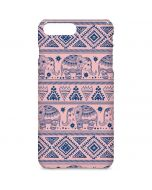 Tribal Elephant Pink iPhone 7 Plus Lite Case