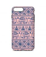 Tribal Elephant Pink iPhone 7 Plus Pro Case