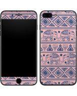 Tribal Elephant Pink iPhone 7 Plus Skin