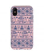 Tribal Elephant Pink iPhone X Pro Case