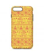 Tribal Elephant Yellow iPhone 7 Plus Pro Case