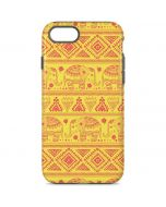 Tribal Elephant Yellow iPhone 7 Pro Case