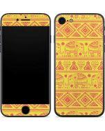 Tribal Elephant Yellow iPhone 7 Skin