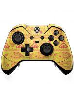 Tribal Elephant Yellow Xbox One Elite Controller Skin