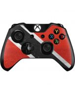 Trinidad and Tobagao Flag Distressed Xbox One Controller Skin