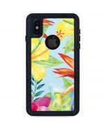 Tropical Daze iPhone X Waterproof Case