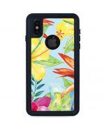 Tropical Daze iPhone XS Waterproof Case