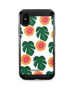 Tropical Leaves and Citrus iPhone XS Max Cargo Case
