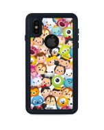 Tsum Tsum Animated iPhone XS Waterproof Case