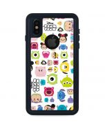 Tsum Tsum Disney Characters iPhone XS Waterproof Case