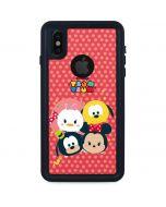 Tsum Tsum Disney Friends iPhone XS Waterproof Case