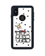 Tsum Tsum iPhone XS Waterproof Case